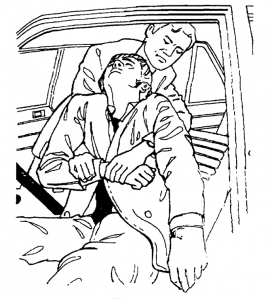 vytažení z auta