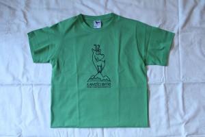 zelená tričko kamzík